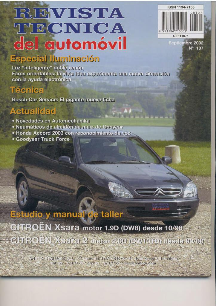 2003 Xsara Ii Manual De Taller Pdf  47 1 Mb
